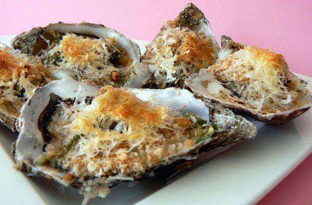 Ostriche gratinate - Parliamo di Cucina