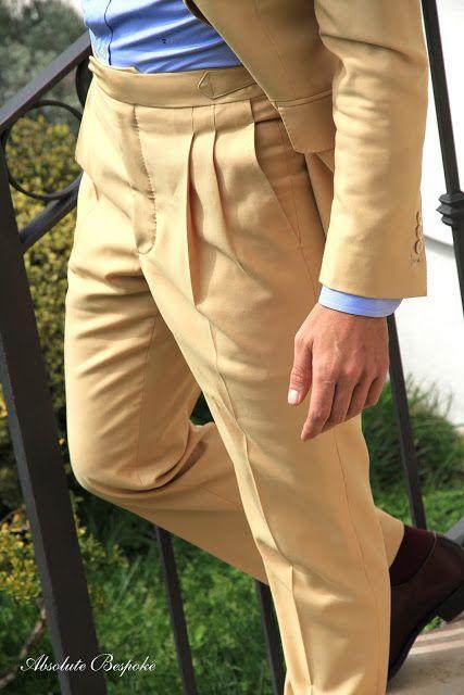 Trousers Beige Absolute Bespoke