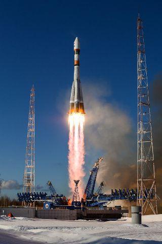 Soyuz 2.1a launches Bars-M satellite