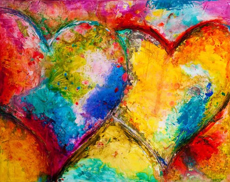 Heart paintings and heart art visit our page at http www ivanguaderrama