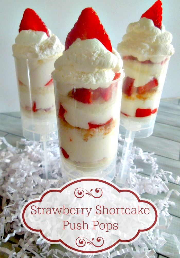 Easy to make push pops using store bought cake, quick to make and a great WOW factor for any party