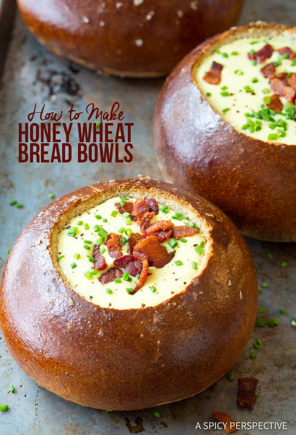 ... on Pinterest | Homemade bread bowls, Bread soup bowls and Bread soup