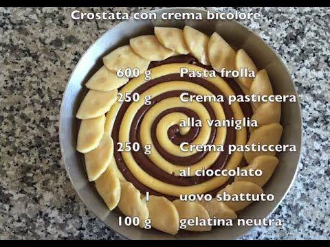 Video tutorial: Come fare una crostata con crema bicolore www.pianetadessert.it/wordpress Pasta frolla Crostata Biscotti Pianeta Dessert Loris Oss Emer