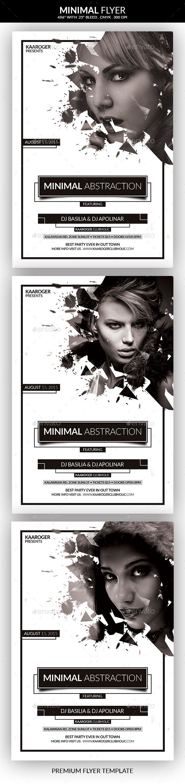 Minimal Flyer  PSD Template • Get it now! ➝ https://graphicriver.net/item/minimal-flyer/12321006?ref=pxcr