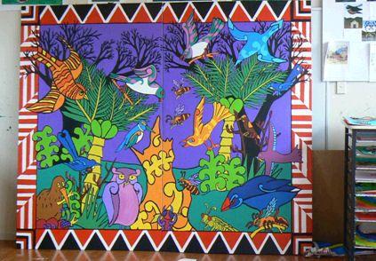 maori myths and legends art - Google Search