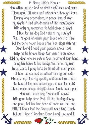 Navy Wife Prayer