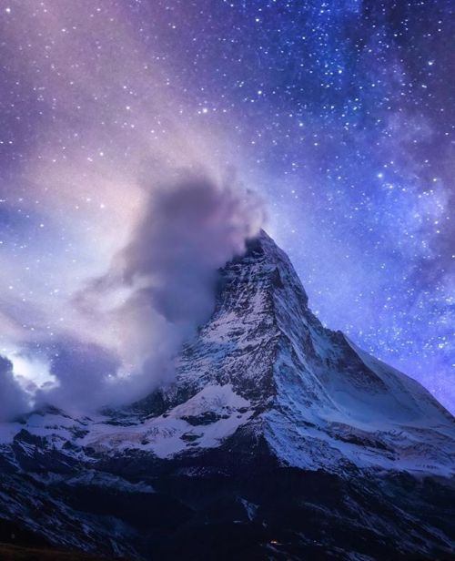 I shot this panorama at the Stellisee Lake in Zermatt Switzerand with a Canon 5D Mk III. I shot the foreground during blue hour and then blended it with an exposure that I took during the night. . Want to hear more about @cmoon_view s amazing Astro images? Check out the link in our bio to read more!  . Thanks to Simone Cmoon for being our next Instagram takeover! via Practical Photography on Instagram - #photographer #photography #photo #instapic #instagram #photofreak #photolover #nikon…