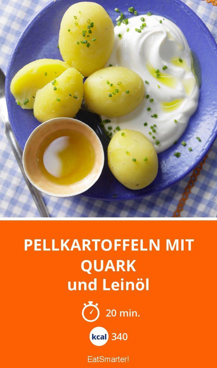 Pellkartoffeln mit Quark - und Leinöl - smarter - Kalorien: 340 Kcal - Zeit: 20 Min. | eatsmarter.de