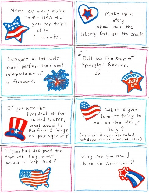 fourth of july food puns