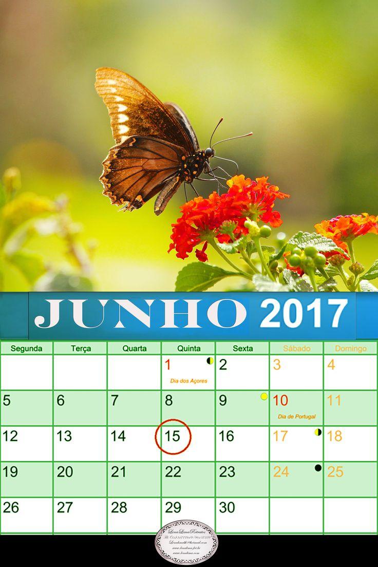 Calendario Junho de 2017.