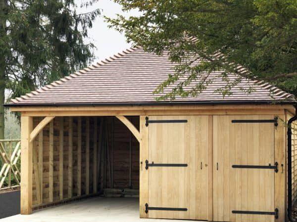 Timber Garages Timber Garage Timber Frame Garage Building A Garage