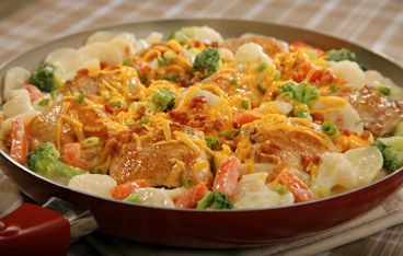 Creamy Chicken Stove Top Casserole