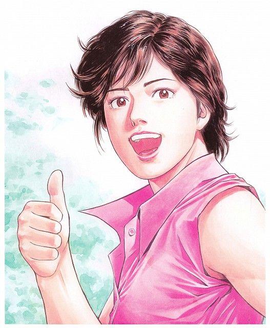 Tsukasa Hojo, City Hunter, Kaori Makimura, Manga Cover