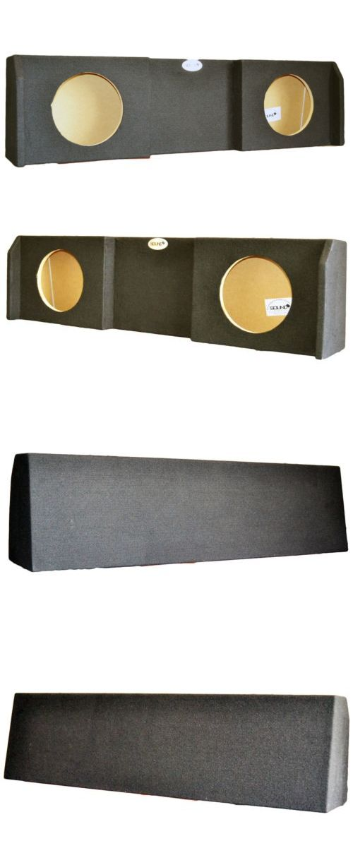 Speaker Sub Enclosures: Nissan Titan Subwoofer Enclosure King Crew Cab Dual 10 Sub Box 2004-2014 -> BUY IT NOW ONLY: $89.95 on eBay!