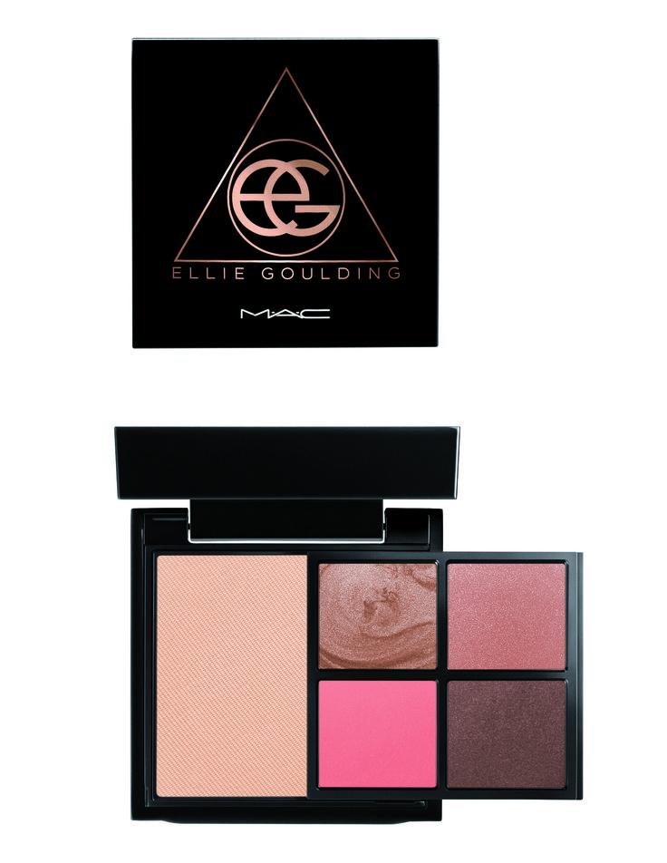 MAC Cosmetics x Ellie Goulding Halcyon Nights Palette