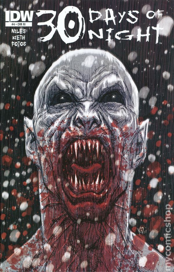30 Days of Night (2011 IDW) Ongoing 4C