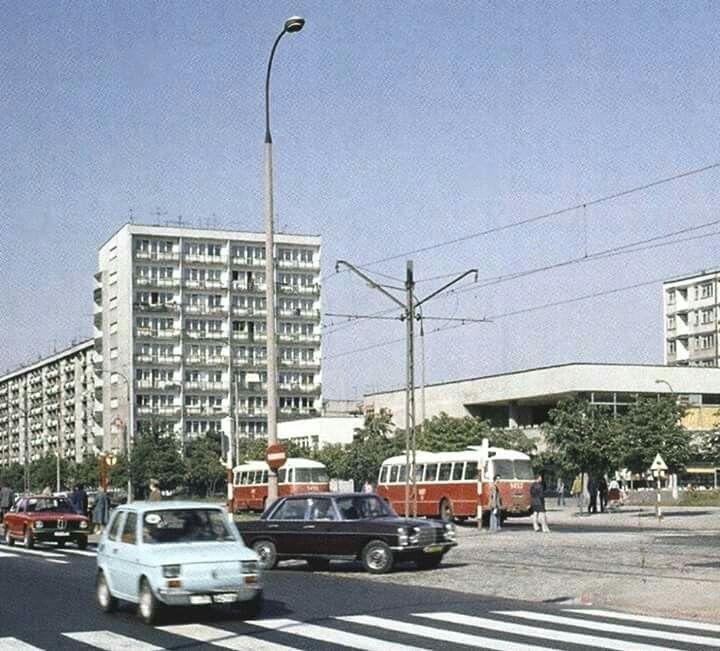 Grójecka / Dickensa, 1977