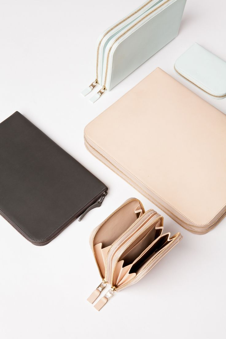 minimalist leather pastel bags