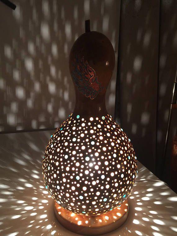 Gourd Lamp Lamp Calabash Gourd Lamp Lamp Bedside Table