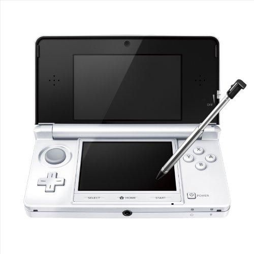 Nintendo 3DS Console - Ice White (Japanese Imported Version - only plays Japanese version games)