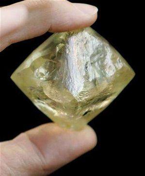 11 best Uncut Yellow Diamonds images on Pinterest   Yellow ...