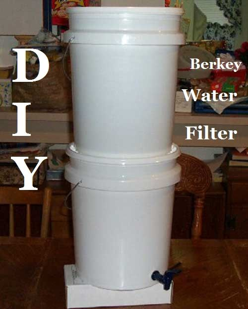 If you bought a Berkey water filter online you are probably looking between 200 and 300 bucks! But you know you can DIY one for literally half the price or less?