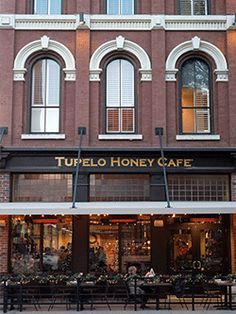 Tupelo Honey Cafe in Knoxville -- Such a great restaurant and definitely worth the wait!