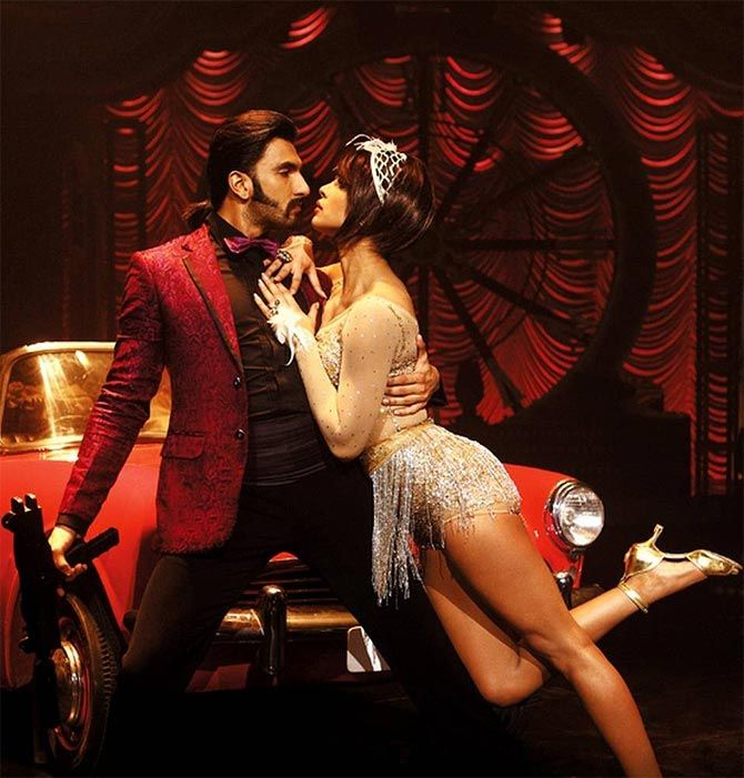 Ranveer Singh and Priyanka Chopra in Gunday #Style #Bollywood #Fashion #Beauty