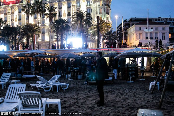 #Cannes #BeachClub #Event #FIF 2016 Private Event Client: @IRONSKY