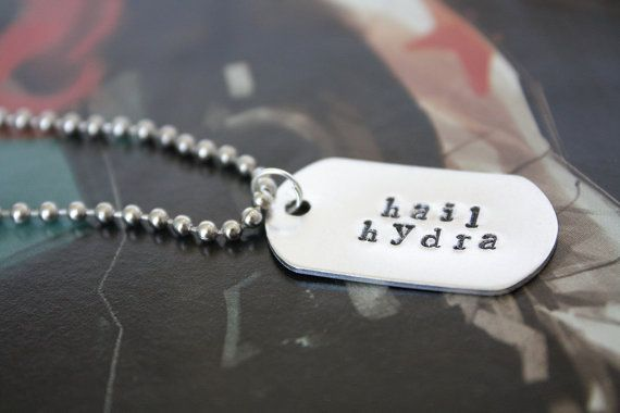 Hail Hydra Marvel & Agents of SHIELD Inspired by Chicgeekshoppe #marvel #agentsofshield