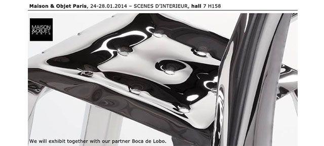 zięta prozessdesign z Boca Do Lobo na Maison & Objet w Paryżu