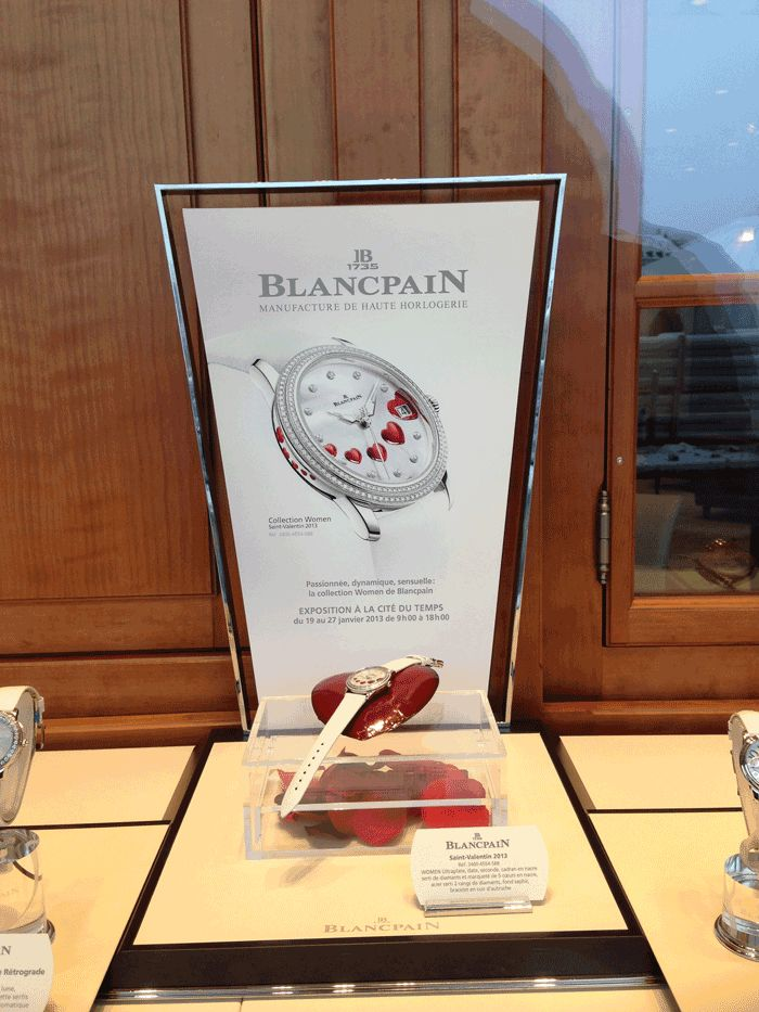 Colección San Valentín 2013 de Blancpain | Watches World