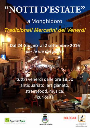Emilia #Romagna: #Notti #d'Estate a Monghidoro: i mercatini del venerdì (link: http://ift.tt/28PE7l3 )