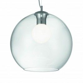 10387-007  Clear Glass Pendant