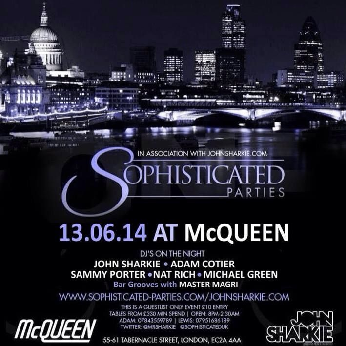 First Solo Gig.. 13th June McQueens, Shoreditch, London  Excited!!