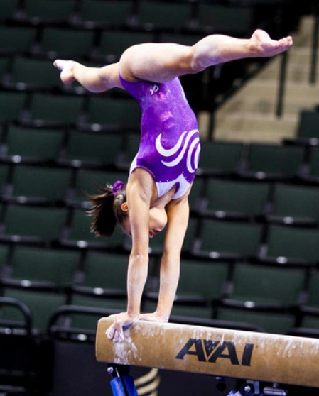 Katelyn Ohashi (2011 Visa PT) women's gymnastics WAG, gymnast, junior elite star WOGA
