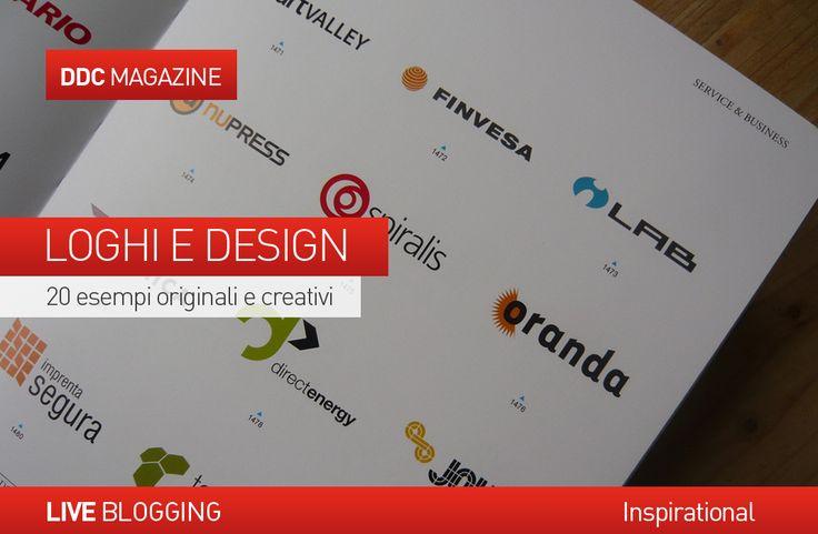 #LOGHI E #DESIGN: 20 ESEMPI ORIGINALI E CREATIVI.  Inspirare fiducia, attirare attenzione, destare curiosità: queste sono solo alcune delle importanti funzioni che deve ricoprire un #logo, in qualsiasi tipologia di #business.  E' importante, quindi, nella costruzione di un logo che sia accattivante, attraente e facilmente riconoscibile, non dimenticare una buona dose di #creatività.  http://www.danieladicosmoadv.it/blog/?p=6536
