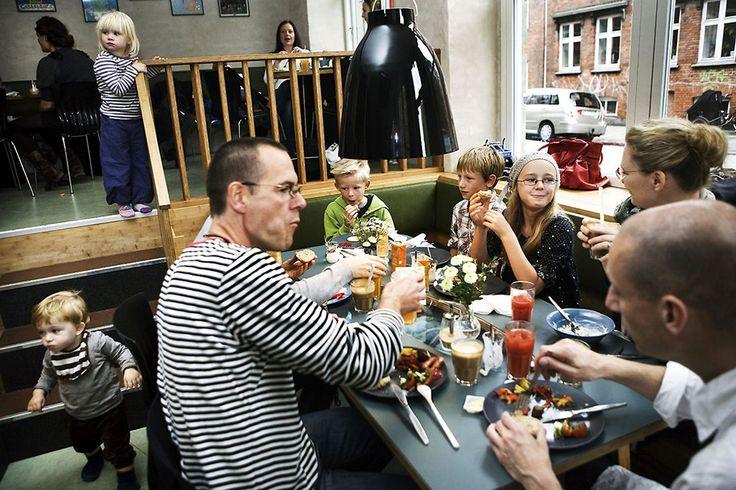 Копенгаген: 10 ресторанов для семей с детьми #restaurant