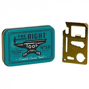 Credit Card Tool - Wild & Wolf  #multitool #handy