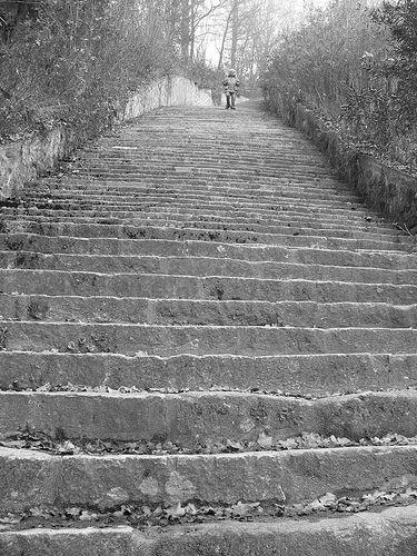 """""""Scala della morte"""" - Campo di concentramento di Mauthausen-Gusen"""