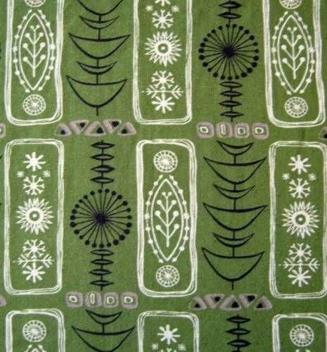 Reproduisez ce motif abstrait d'inspiration végétale en utilisant les tubes de pointe fine de couleurs noir, blanc et gris sur un fond d'un vert riche!