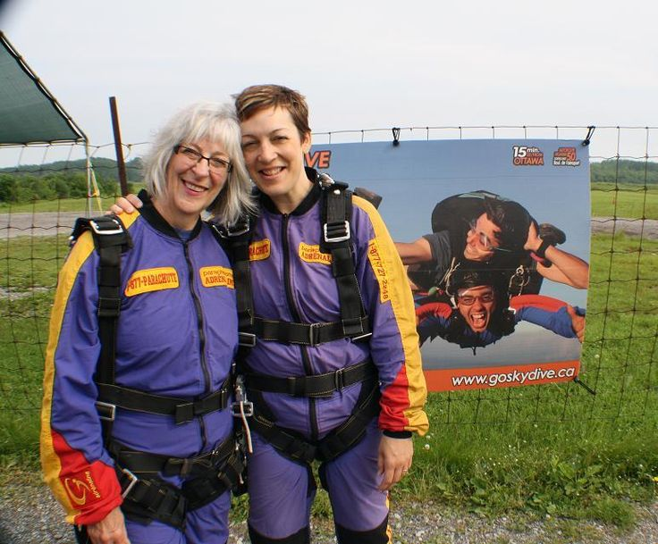 Dany and Janine went skydiving for Jesus! And with a myGFA campaign, they raised money for 100 bicycles for missionaries.