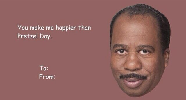 This is the best thing I've ever seen #theofficevalentinesdaycard