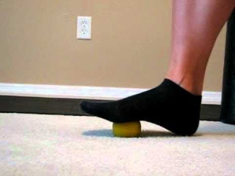 Chair yoga foot massage -- for runners, walkers, yogis, people who wear  high heels, etc.