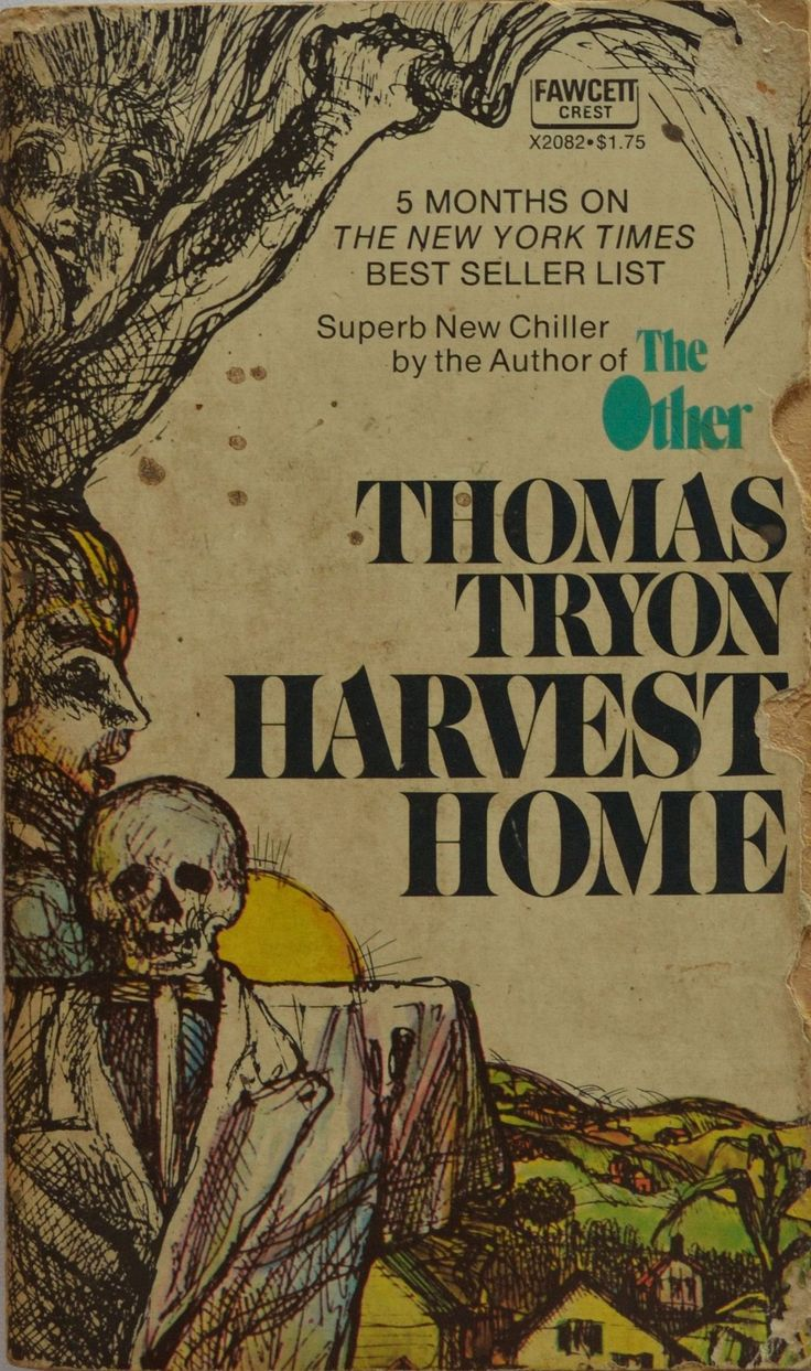 1974 edition of Thomas Tryon's classic horror Harvest Home. #Warning: Do NOT read this book if you are alone. http://www.dogearsetc.com/dogears/book_details?resourceID=599