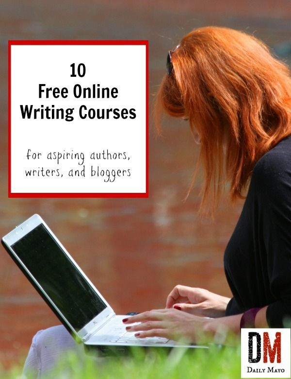 online courses writing