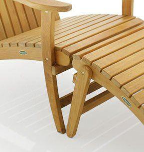 Amazon.com: Teak Adirondack Chair: Patio, Lawn & Garden
