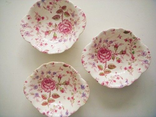 Johnson Brothers China Rose Chintz ❤