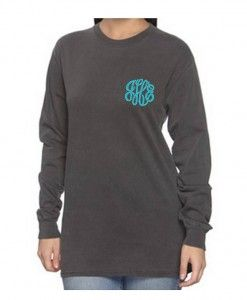 Long Sleeve T-shirt- http://mintjulepmonograms.com/product/long-sleeve-t-shirt-adult/  Don't you just love a T-shirt day? No heels, no spanx and {for-the-love-of-Peter} no slips! My mother used to make us wear them all the time. I still have hard feelings. Don't even get me started on panty hose… Still preppy, adorable & of course- monogrammed! Great for cold winter days, spring baseball game breezes, summer nights & fall football- truly a well loved gem you can wear year 'round!