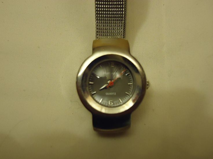 Rumours Watch Analog Casual Metal Band Female Adult Silvers/Grays -- Preowned